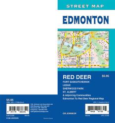 Edmonton / St. Albert / Sherwood Park / Red Deer, Alberta Street Map by GM Johnson