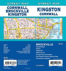 Kingston / Cornwall / Brockville / Smith Falls, Ontario Street Map by GM Johnson