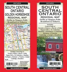 South Central Ontario (Golden Horseshoe), Ontario Regional Map Regional Map by GM Johnson