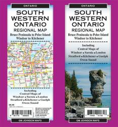 Southwestern Ontario, Ontario Regional Map by GM Johnson
