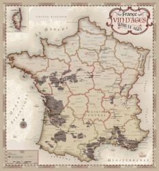 France, Wine of Ages by Vinmaps