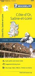 Cote D Or, Seine Et Loire, France (320) by Michelin Maps and Guides