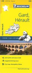 Gard, Herault, France (339) by Michelin Maps and Guides
