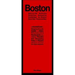 Boston, MA: Beacon Hill North End : South End Harvard Sq : Cambridge So. Boston : Back Bay Financial Dist. by Red Maps