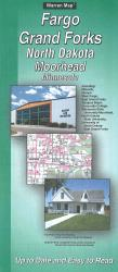 Fargo/Grand Forks, North Dakota : Moorhead, Minnesota by The Seeger Map Company Inc.