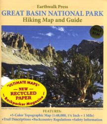 Great Basin National Park, Nevada, Hiking Map and Guide by Earthwalk Press