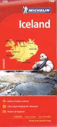 Iceland by Michelin Maps and Guides