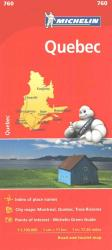 Quebec (760) by Michelin Maps and Guides