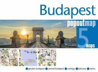 Budapest, Hungary, PopOut Map by PopOut Products