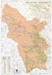 Syunik Marz, Armenia : Regional Map by Collage Ltd.