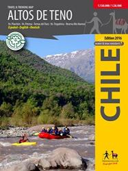 Altos de Teno - Travel and Trekking Map by Trekking Chile