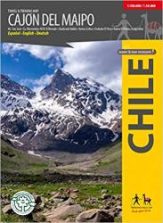 Cajon Del Maipo - Travel & Trekking Map by Trekking Chile