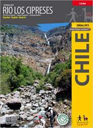 Rio Los Cipreses, Chile : Trekking Map by Trekking Chile