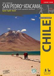 San Pedro de Atacama, Chile : Travel & Trekking Map by Trekking Chile