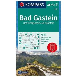 Badgastein - Bad Hofgastein Hiking Map by Kompass
