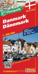 Denmark with Distoguide by Hallwag
