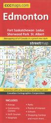 Edmonton, Alberta Street Map by Canadian Cartographics Corporation