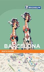 Michelin Map and Guide, Barcelona by Michelin Maps and Guides