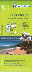 Guadeloupe, St-Martin and St-Barthelemy by Michelin Maps and Guides