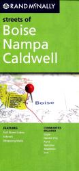 Boise, Nampa and Caldwell, Idaho by Rand McNally