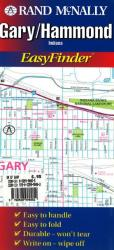 Gary and Hammond, Indiana, EasyFinder by Rand McNally