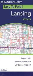Lansing, Michigan, Easy To Fold by Rand McNally