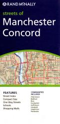 Manchester and Concord, New Hampshire by Rand McNally