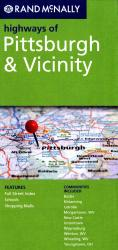 Pittsburgh and Vicinity, Pennsylvania Highways by Rand McNally