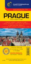 Prague, Czech Republic by Cartographia