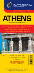 Athens, Greece by Cartographia