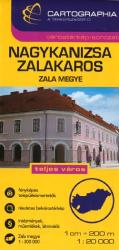 Nagykanizsa and Zalakaros, Hungary by Cartographia