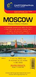 Moscow by Cartographia