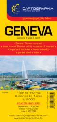 Geneva, Switzerland by Cartographia