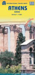Athens Travel Map by International Travel Maps