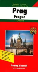 Prague, Czech Republic by Freytag-Berndt und Artaria