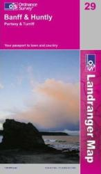Banff, United Kindom, Landranger Map 29 by Ordnance Survey