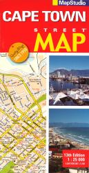 Cape Town, South Africa, Street Map by Map Studio