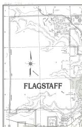 Flagstaff and Doney Park, Arizona by North Star Mapping