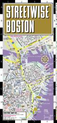 StreetWise Compact Boston, Massachusetts by Streetwise Maps, Inc