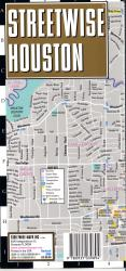 StreetWise Houston, Texas by Streetwise Maps, Inc