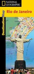 Rio de Janeiro, Brazil, Laminated DestinationMap by National Geographic Maps
