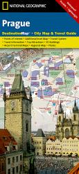 Prague, Czech Republic DestinationMap by National Geographic Maps