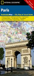 Paris, France DestinationMap by National Geographic Maps