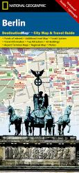 Berlin, Germany DestinationMap by National Geographic Maps