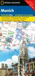 Munich, Germany DestinationMap by National Geographic Maps