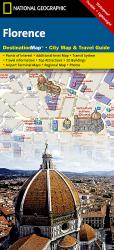 Florence, Italy, DestinationMap by National Geographic Maps