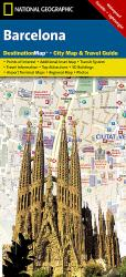 Barcelona, Spain DestinationMap by National Geographic Maps