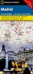Madrid, Spain DestinationMap by National Geographic Maps