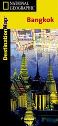 Bangkok, Thailand DestinationMap by National Geographic Maps