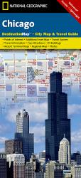 Chicago, Illinois DestinationMap by National Geographic Maps